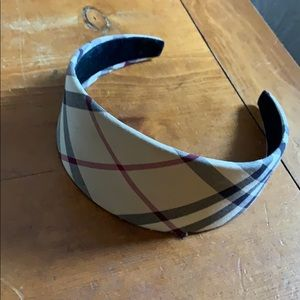 Burberry wide headband